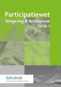 Participatiewet Wetgeving & Rechtspraak - 2018-1