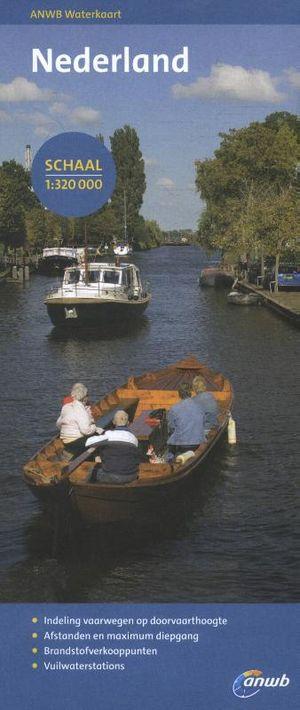 Waterkaart Nederland
