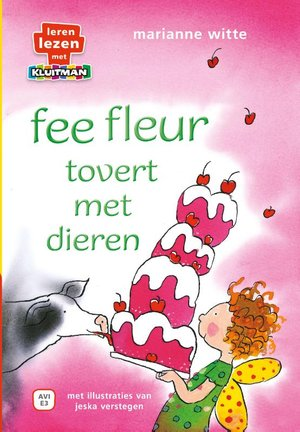 fee fleur tovert met dieren.