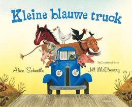 Kleine blauwe truck (kartonboek)