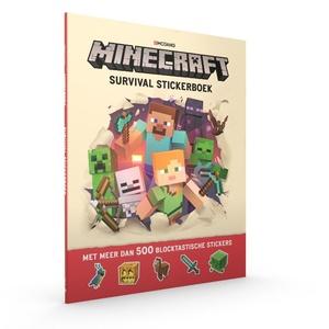 Minecraft Survival Stickerboek