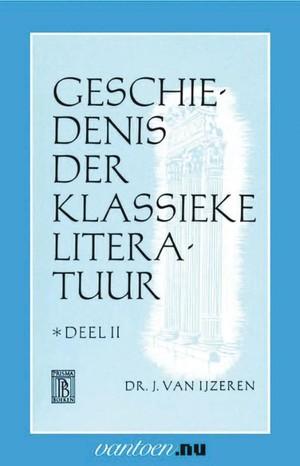 Geschiedenis der klassieke literatuur - II
