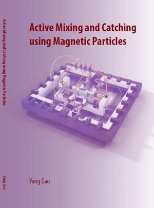 Active mixing and catching using magnetic particles