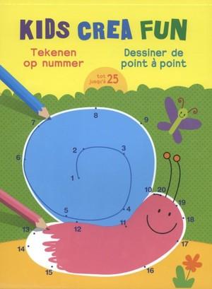Kids crea fun - Tekenen op nummer tot 25; Dessiner de point à point jusqu'à 25