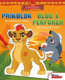 Disney prikblok The Lion Guard / Disney bloc à perforer The Lion Guard
