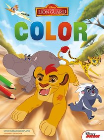 Disney Color The Lion Guard