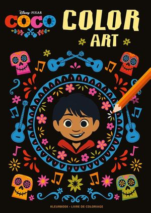 Disney Coco Color Art kleurboek / Disney Coco Color Art livre de coloriage