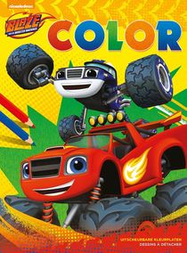 Blaze and The Monster Machines Color
