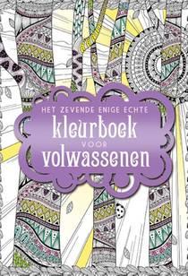 Het zevende enige echte kleurboek voor volwassenen