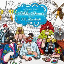 Het enige echte Dikke Dames op reis XXL kleurboek