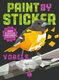Paint by sticker - vogels