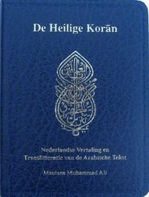 De Heilige Koran (pocket uitgave in het Nederlands met translitteratie)