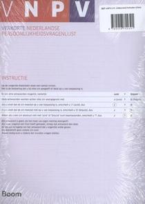 VNPV: Zelfscorende formulieren (25)