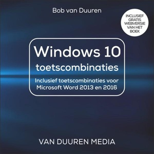 Windows 10 toetsenbordcombinaties