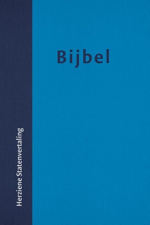 Bijbel Herziene Statenvertaling huisbijbel met vivella omslag