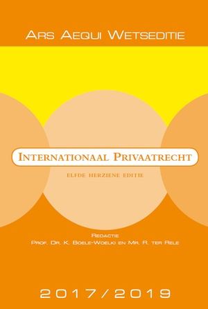 Internationaal privaatrecht 2017/2019