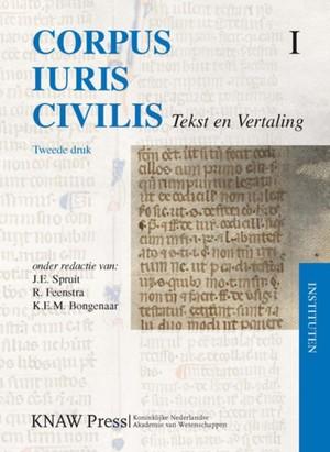 Corpus Iuris Civilis - 1 Instituten