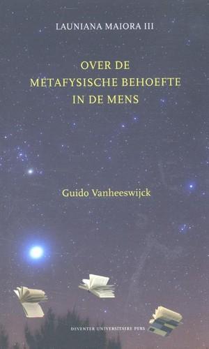 Over de metafysische behoefte in de mens