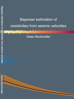 Bayesian estimation of resistivities from seismic velocities