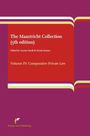 The Maastricht Collection - Volume IV: Comparative Private Law