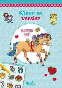 Paarden en pony's (met wrijfplaatjes)