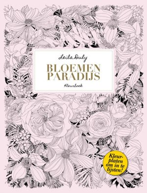 Bloemenparadijs kleurboek