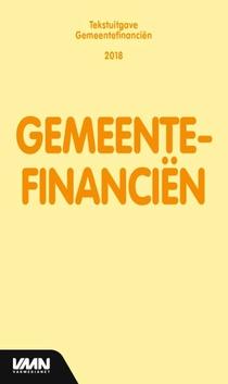 Gemeentefinanciën - 2018