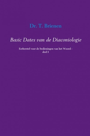 Basic dates van de diaconiologie - 1