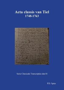Acta classis van Tiel 1748-1763