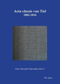 Acta classis van Tiel 1802-1816