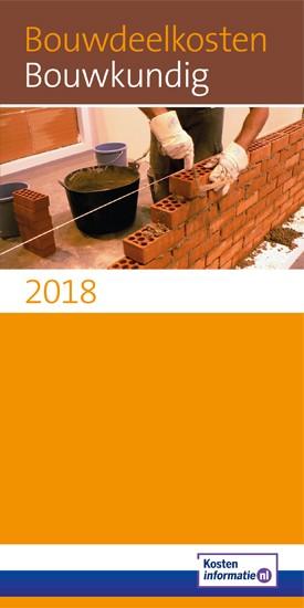 Bouwdeelkosten Bouwkundig 2018
