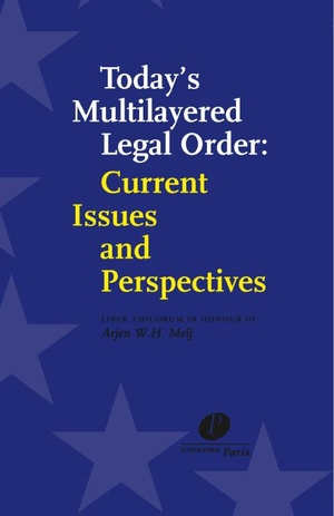 Today's multilayered legal order