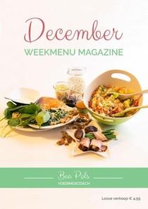 December Weekmenu Magazine