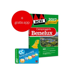 ACSI Campinggids Benelux 2017 + app