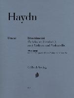 Divertimenti für Klavier (Cembalo) mit zwei Violinen und Violoncello