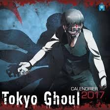 Tokyo Ghoul 2017 Wall Calendar